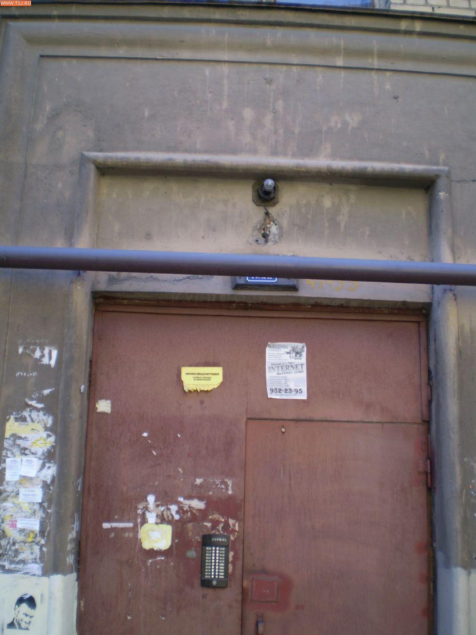 стоимость железной двери с обычным домофоном