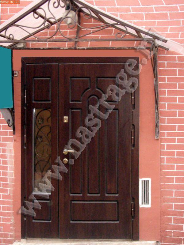 металлические двер для загородных домов