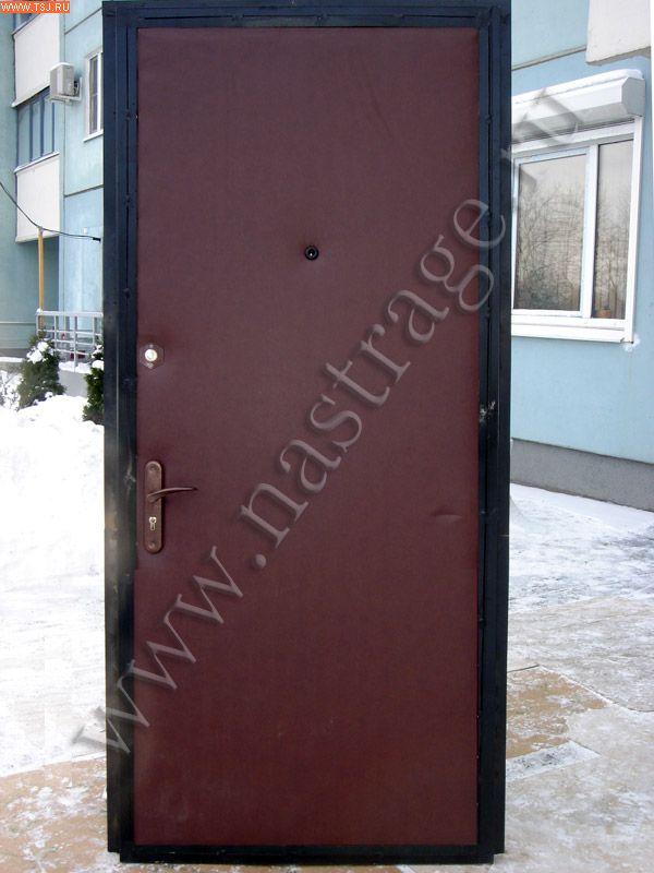 дверь металлическая эконом сзао москва
